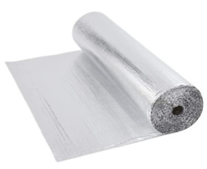 Van thermal insulation, double foil. 20m2 (4 Rolls) Free UK Postage