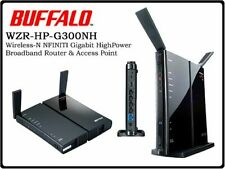 Buffalo WZR-HP-G300NH Wireless- N High Power Router / Access Point
