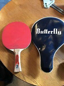 Des Douglas Championship butterfly no. 7218 table tennis bat