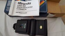 Miranda 630 CD Multi dedicado pistola Flash variuous? Canon Nikon Olympus Minolta