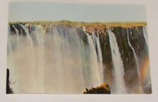 RHODESIA - THE ARMCHAIR WITH PART OF RAINBOW FALLS, VICTORIA FALLS