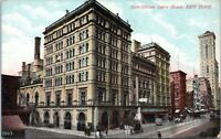 1910 Metropolitan Opera House Broadway Street View NYC Postcard AJ