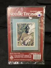 Needle Treasures Crewel Embroidery Nested Canada Goose New Sealed ColorArt 00729