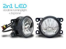 2 in 1 - LED Tagfahrlicht + LED Nebelscheinwerfer - Tagfahrleuchten Peugeot NSW