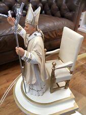 "The Danbury Mint ""Millennium Blessing"" Catholic Saint Pope John Paul Ii Statue"