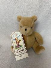 "GUND Classic Winnie the Pooh Plush Stuffed Animal 6"" NEW"
