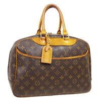 LOUIS VUITTON DEAUVILLE BUSINESS HAND BAG VI0928 PURSE MONOGRAM M47270 31320