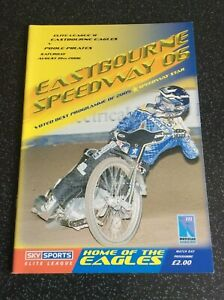 2006 EASTBOURNE v POOLE + S.A.J.L  EAGLETS v POOLE 19th AUGUST (GOOD CONDITION)