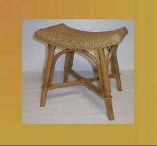 Rattan Stool Honey Arched