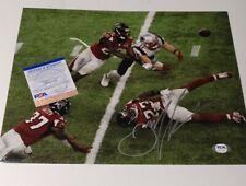 Julian Edelman New England Patriots NFL SB 51 Signed Autographed 11x14 Photo PSA