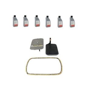 For BMW E36 E39 E46 Auto Trans Filter Kit & 6 Liters Auto Transmission Fluid