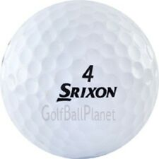 60 Mint Srixon Q Star White Used Golf Balls + Free Tees