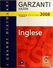 I Grandi Dizionari Garzanti Hazon Nuova Ed.2008 - Inglese-CON CD ROM