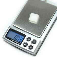 500g x 0,01g Digitalwaage Silber Schmuck Gewicht Balance Werkzeug Gerät YRDE