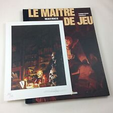 """Tirage de tête - Le maitre de jeu - """"matrice"""" - N° et S à 350 ex."""