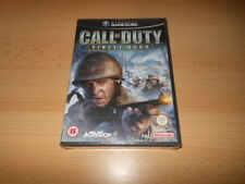 Call OF DUTY FINEST HOUR Nintendo GAMECUBE PAL NUOVO SIGILLATO