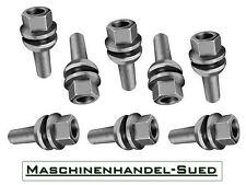 20 Radschrauben M14 x 1,5 x 35 für VW Multivan V (T5) mit Kugelbund 2-teilig