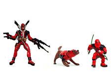 """Marvel Universe 3.75"""" Half Masked Deadpool Kidpool Dogpool Loose Action Figure"""