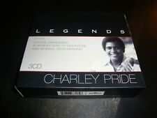 CHARLEY PRIDE - Legends 3 x CD Box Set 82876 637182