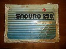 OEM Montesa Enduro 250 AHRMA Owners Book Owners Manual Printed In Spain