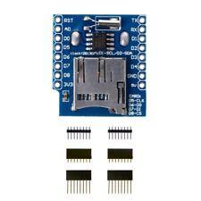 Mini SD Micro Wemos D1 Data Logger Shield+RTC DS1307 Clock For Arduino Raspberry