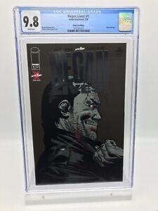 Negan Lives! #1 Silver Foil Variant CGC 9.8