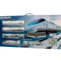 Bachmann 01205 Amtrak Acela Express Electric Train Set w/ E-Z Track HO Scale