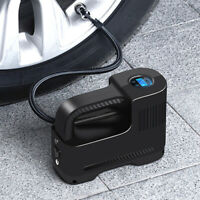 150PSI Portable Tire Inflator Air Compressor W/LED Flashlight For Car Motorcycle