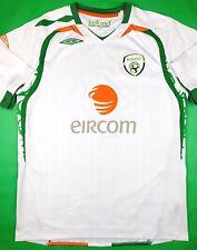 Umbro IRELAND 2007-09 L Away Soccer Jersey Football Shirt Eire FAI Trikot