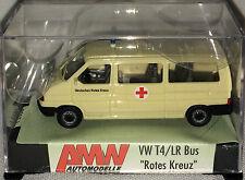 """AMW 3017.1 – VW t4/lr Bus """"Deutsches Croce Rossa"""", h0, 1:87 NUOVO + OVP"""