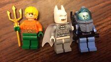 Lego 76000 Mr. Freeze Aquaman Batman Arctic Minifigure Rare Lot Super Heroes Lot