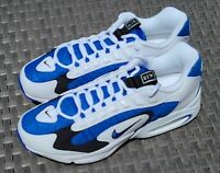 NIKE AIR MAX TRIAX 96 (US Size 10) Men's White/Varsity Royal Running Shoes - NEW