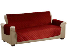 Luxury Sofa Seat Arm Chair Settee Protector Furniture Throw Quilted Slip Cover