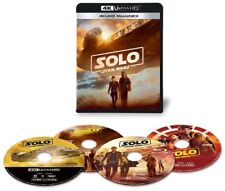 New Solo A Star Wars Story 4K ULTRA HD+3D+2D Blu-ray Limited Edition Japan