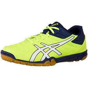 ASICS Table Tennis Shoes EXCOUNTER 2 Flash Yellow White 1073A002 US9.5(27.5cm)