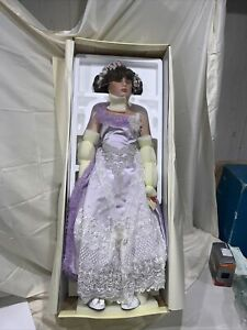 Debutante Collection Colette Ltd Edition Porcelain Doll by Michael Reid, NIB