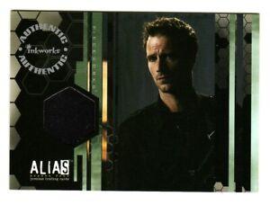ALIAS SEASON 4 COSTUME CARD PW7 BLACK JACKET WORN MICHAEL VARTAN MICHAEL VAUGHN
