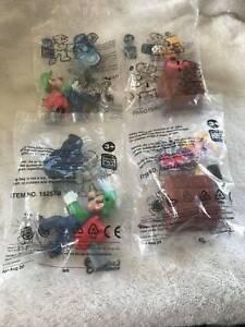 Mario & Luigi Hungry Jacks toys