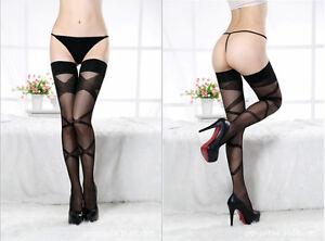 LOVE SEXY TEMPTATION WARDROBE Intimate Thigh High Stockings Fascinated Bandage