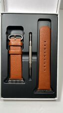 Fullmosa Compatible Apple Watch Band 38mm Brown