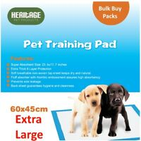 Heritage Pets 150 X Large Puppy Training Pads Wee Wee Toilet Trainers 60 x 45cm