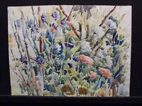 Beautiful Original Watercolor painting Previously Framed Artist A. Kirum? L@@K