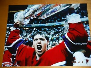 Patrick Roy Authentic Autographed 8x10 Montreal Canadiens Stanley Cup Photo