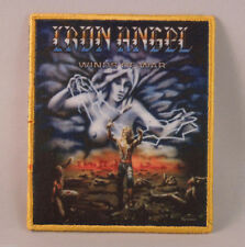 IRON ANGEL Winds of War (YELLOW Border Printed Small Patch) (NEW)