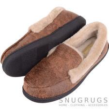 Regular Size Solid Moccasins Shoes for Men