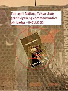 Bandai Soul of Chogokin GX-01R Tamashii Nations Tokyo & badge Mazinger Z Mazinga