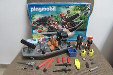 Playmobil - Aventuras - Barca Lancha Piratas Vehiculo  - 4845 - (COMPLETO) OVP