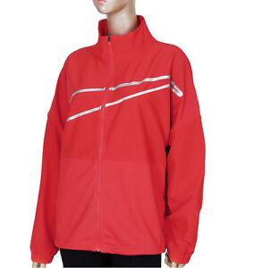 Nike Women's Pro Woven Jacket Red DA0498-673