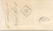 P3746    Mantova, Pieve di Coriano annullo quadrato 1889