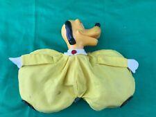 Vintage Disney Pluto Mouse Bean Bag Doll Purple Japan Collectible Toy
